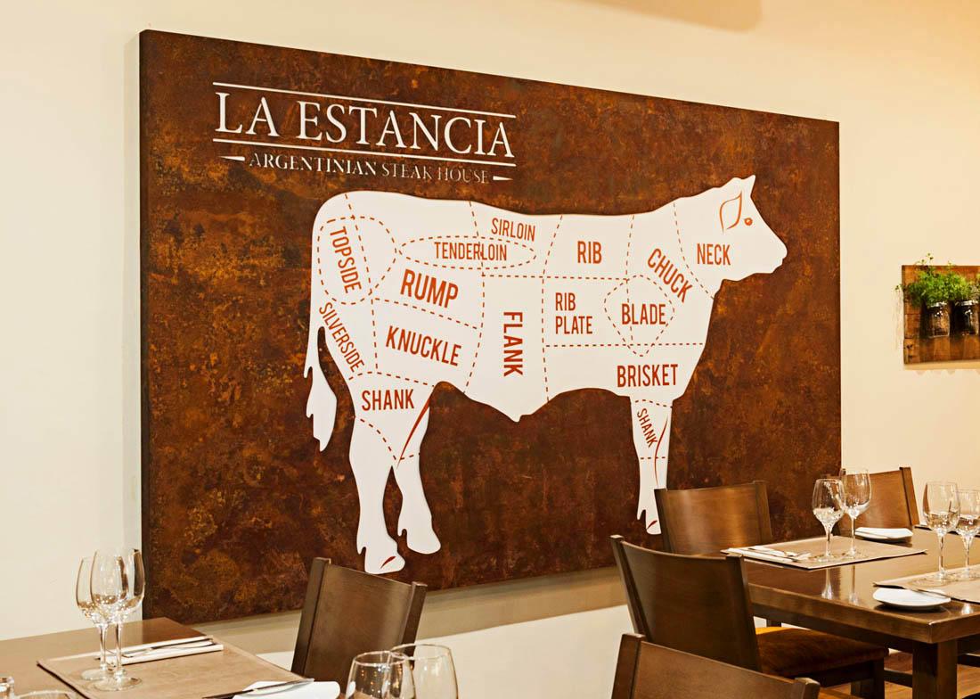 Acero Corten Restaurante La Estancia