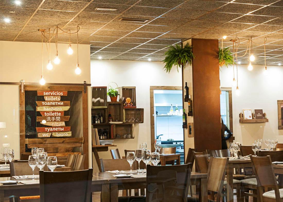 Decoración Restaurante La Estancia