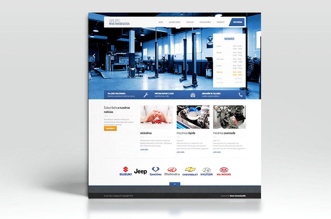 Diseño web corporativa Fuengirola