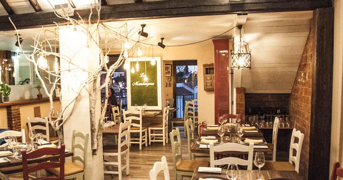 Decoraci n e interiorismo restaurante la mandr gora gin - Mandragora decoracion ...