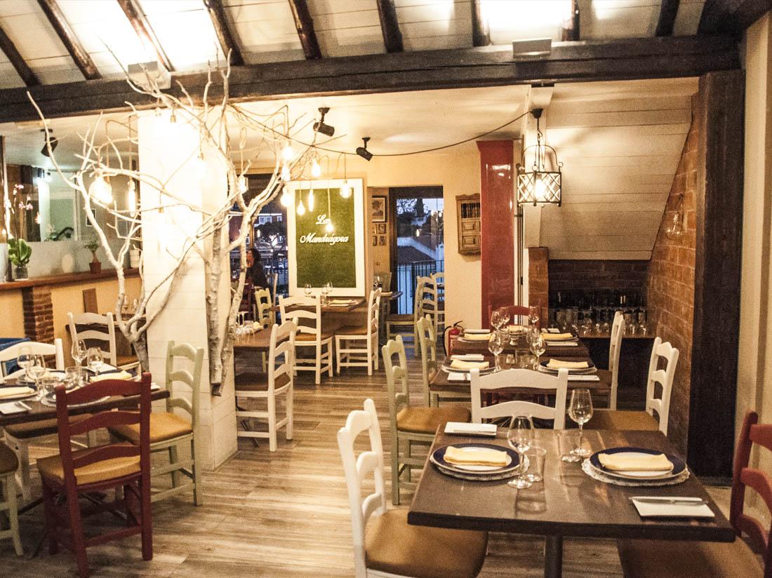 Decoración Restaurante La Mandrágora
