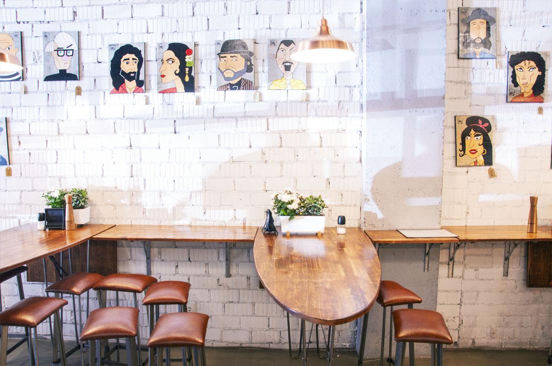 diseño mobiliario restaurante
