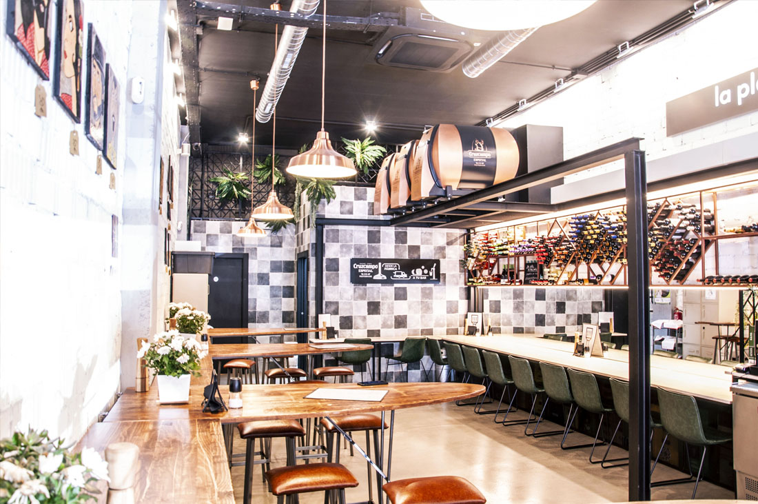 Diseño restaurante la plancha