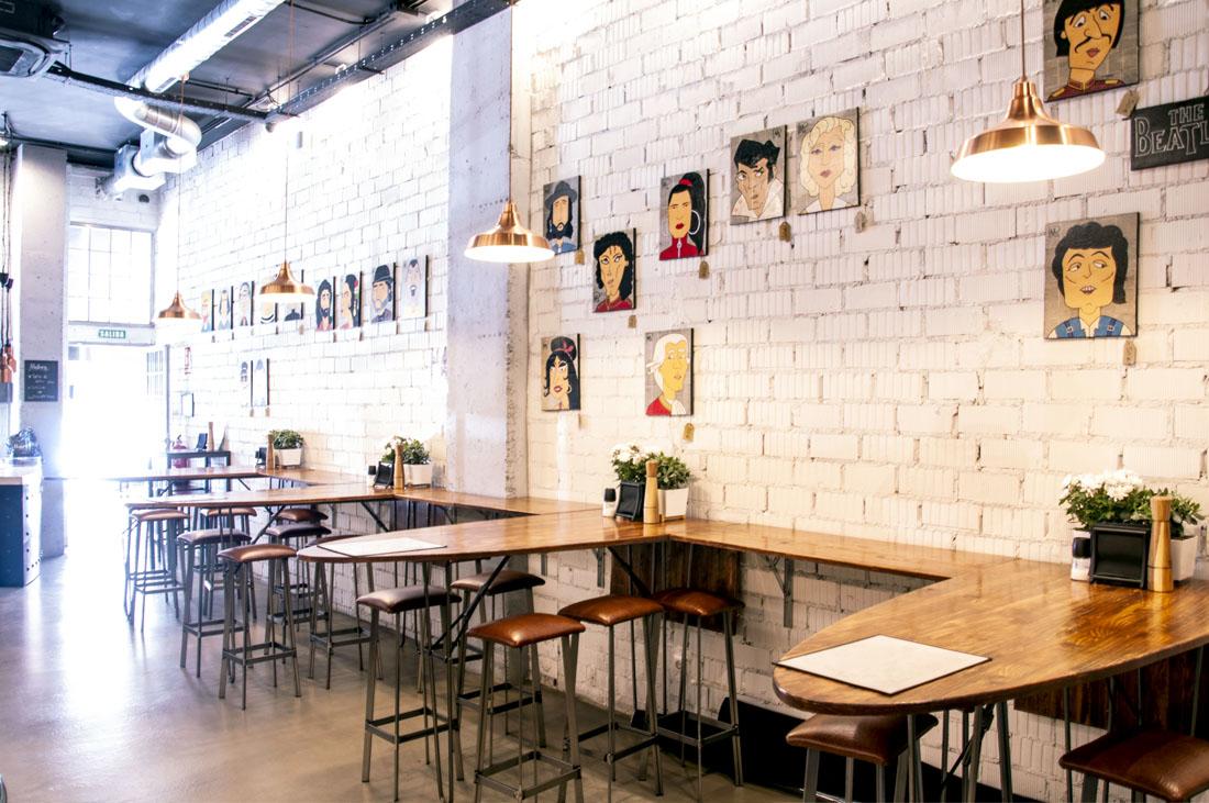 Interiorismo restaurante la plancha